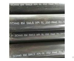 Black Coating Carbon Steel Pipe Api 5l X52