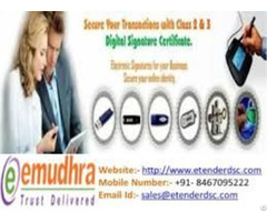 Apply For Digital Signature Certificate