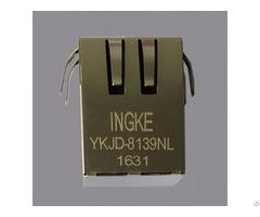 Ykjd 8139nl 100% Cross Hfj11 S101e L21 Rj45 Jacks With Integrated Magnetics
