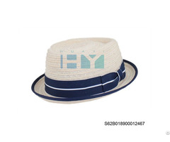 Straw Pork Pie Hats