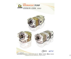Cosmic Forklift Parts On Sale No 323 Cpw Hydraulic Pump Cdf32 And 33 Cfs32 Series Catalogue Size