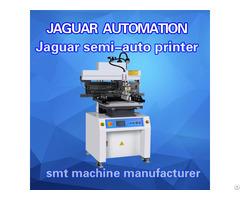 Small Semi Auto Screen Pcb Stencil Printer For Smt Machine