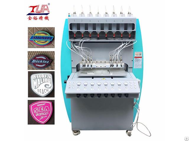 Durable And Popular Automatic Logo Making Machine Plastic Brand Equipment