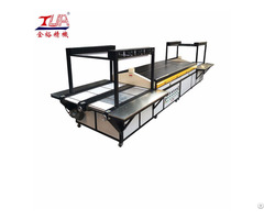 High Output 2 Channel Shoe Sole Production Line Pvc Insole Making Machine