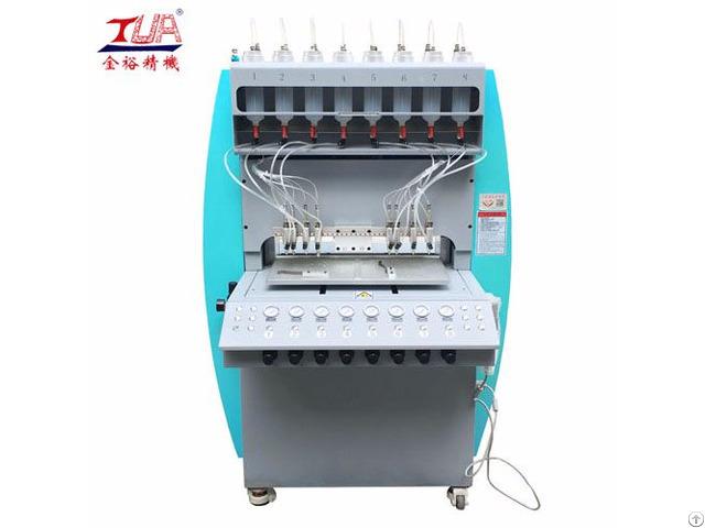 Jinyu High Speed Pvc Slipper Pieces Dispensing Injection Making Machine