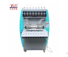 Jinyu High Speed Pvc Slipper Pieces Dispensing Injection Making Machine