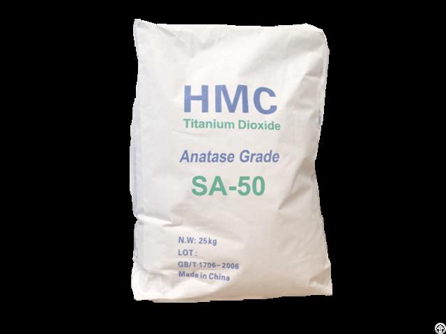 Titanium Dioxide Anatase Type Fiber Grade Sa 50