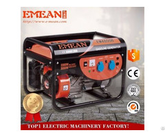 Stroke 4 2 5 8 75kva Big Power Hot Sale Best Quality Open Type Gasoline Generator