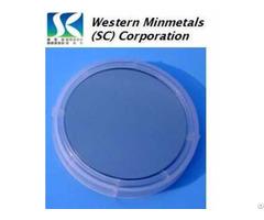 "Gallium Arsenide Gaas Si Doped Wafer 2"" 3"" 4"" At Western Minmetals Sc Corporation"