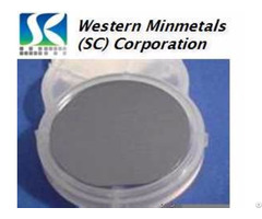Indium Antimonide Insb Single Crystal Wafer 2'' At Western Minmetals Sc Corporation