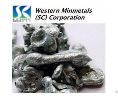 High Purity Zinc 5n 6n 7n At Western Minmetals Sc Corporation