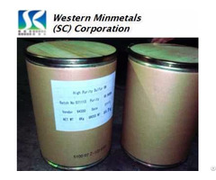 High Purity Sulfur Sulphur 5n 6n At Western Minmetals Sc Corporation