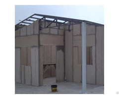 Long Life Time Strong Cement Board Panel Family Cabins
