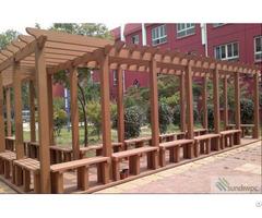 Wpc Pergola Wood Plastic Composite