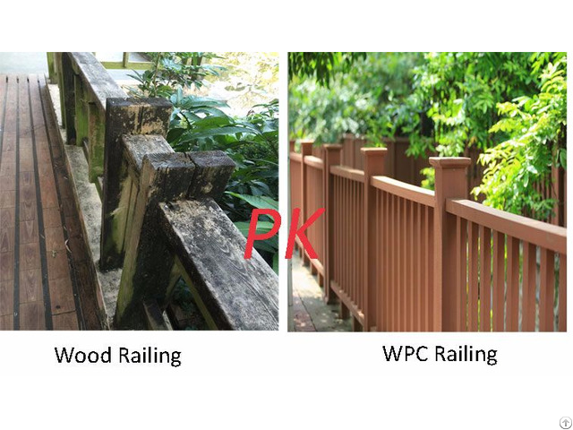 Direct Factory Supply Wpc Railing China