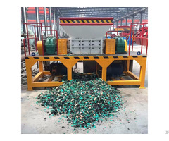 Ling Heng Bottles Shredder Waste Plastic Scrap Shredding Machine Rubber Crushing For Sale