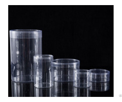Clear Plastic Tube Containers For Packing Different Electronics Products