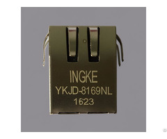 Ingke Technology Ykjd 8169nl 100% Cross 7499011121a Through Hole Rj45 Modular Jack Connectors