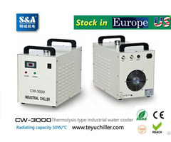 S And A Water Cooled Chiller Cw 3000 Ac220v 50hz For Co2 Laser Or Cnc Spindle