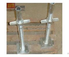 Construction Adjustable Scaffolding Jack Screw