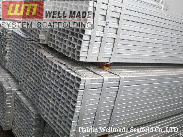 Steel Hollow Pipe Square Tube Scaffolding Beam