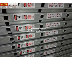Heavy Duty D Type En131 Cert Aluminium Ladder