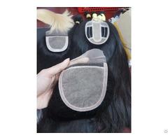 Whosales Silk Base Closure Human Vietnam Hair