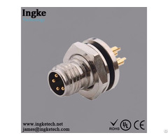 Waterproof Ip67 M8 Circular Connector 855 004 103r004