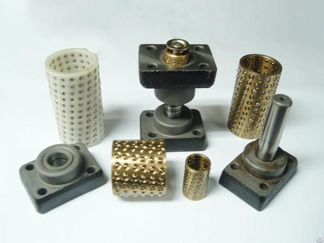 Ball Cage Bearing Aluminum Brass Resin Base Used For Plastic Mould And Metal Pressing Die