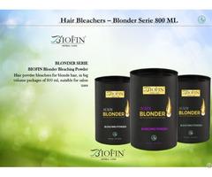Biofin Cosmetics Hair Bleachers