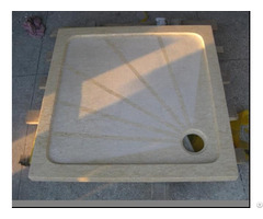 Sunny Cream Marble Bathroom Shower Tray