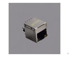 Si 46001 F Vertical Rj45 Magnetic Jack Connector