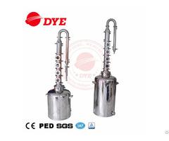 Mini Size Stainless Steel Home Used Pot Still Distiller Alcoholl Distillation Equipment