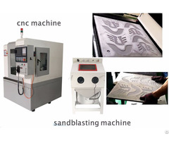 New Cnc Sculpture Aluminum Copper Mould Making Machine