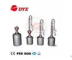 Mini Size Stainless Steel Home Used Pot Still Distiller Beer Distillation Equipment