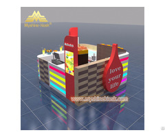 Cheap Custom Modern Shopping Mall Retail Food Booth For Sale