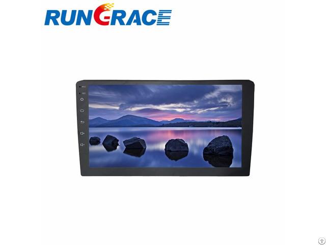 Rungrace 10 1 Inch Big Screen Universal 2 Din Car Dvd Player