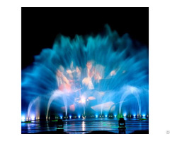 Government Digital Air Blast Fire Music Fountain Project