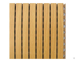 Grooved Timber Wooden Acoustic Wall Panels