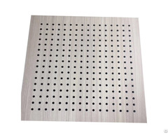 Fire Resistant Perforated Fiber Wooden Plastic Composite Wall Boards