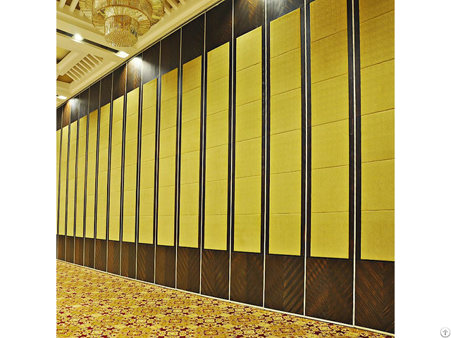 Restaurant Soundproofing Acoustic Movable Folding Screen Room Dividers