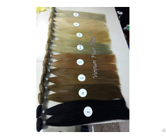 Standard Double Drawn Remy Weft Hair Factory Price