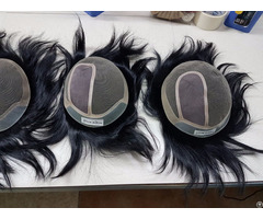 Handmade Toupees For Men Factory Price