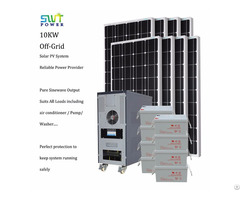 10kw Stand Alone Off Grid Solar Energy System
