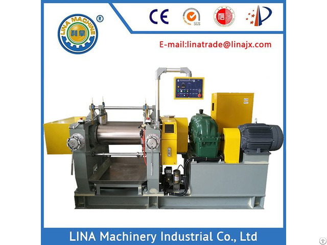 New 16 Inch Mass Production Two Roll Rubber Mixing Mill