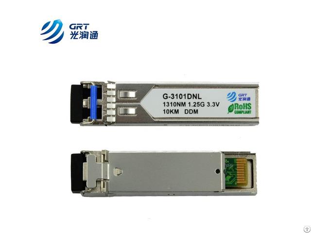 Glc Lh Smd Gigabit 1 25g Single Mode 1310nm 10km Ddm Sfp Optical Module