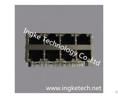 Ingke Ykg 832409nl 100% Cross Xmh 9760 Jl7d130 886 2x4 Ports Rj45 Magjack Connectors