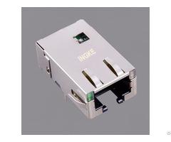 Ingke Yktd 8319nl 100% Cross Jt4 1108hl Single Ports 10g Base T Magnetic Rj45 Jacks