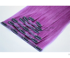Full Clip In Human Hair Extension