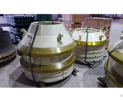 Sandvik H2800 Cone Crusher Standard Mantle Concave Ring Manufacture